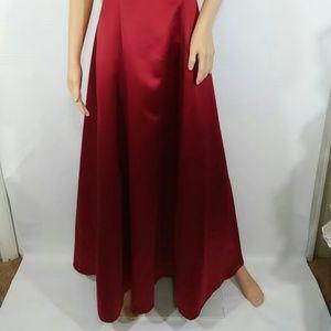44057db8053 Betsy   Adam Dresses - Betsy   Adam By JasLene Crimson Red Dress Size 8